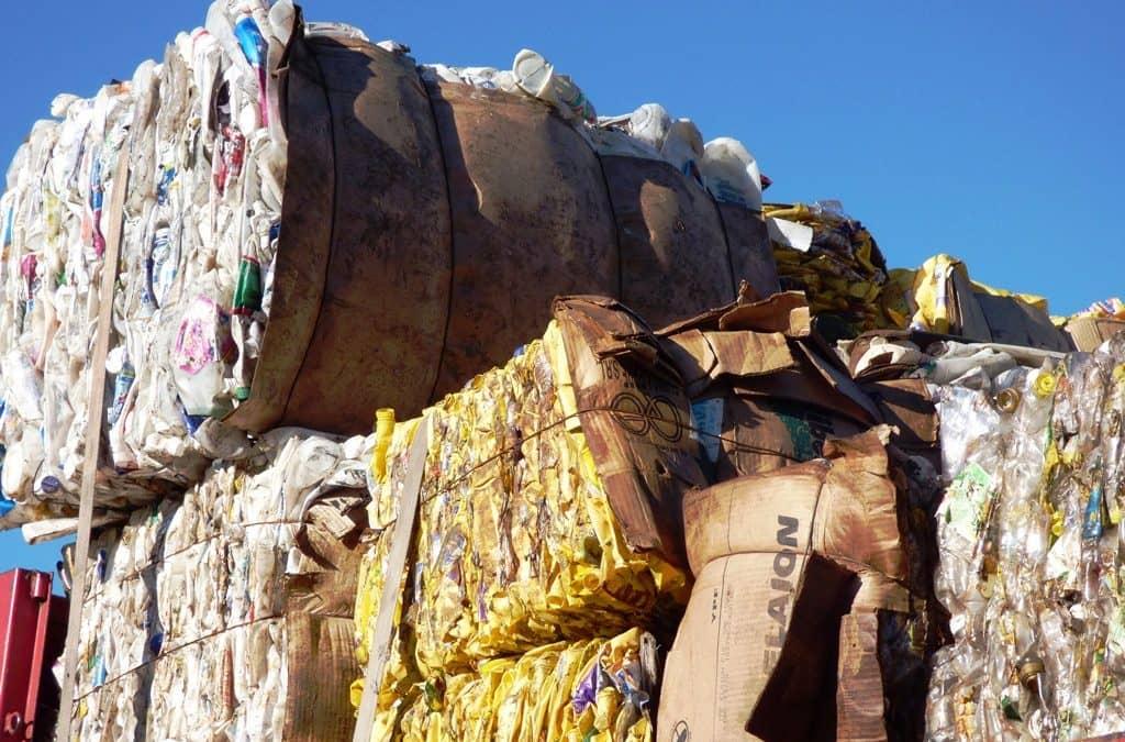 Venta de material reciclable reclasificado en el Prolim