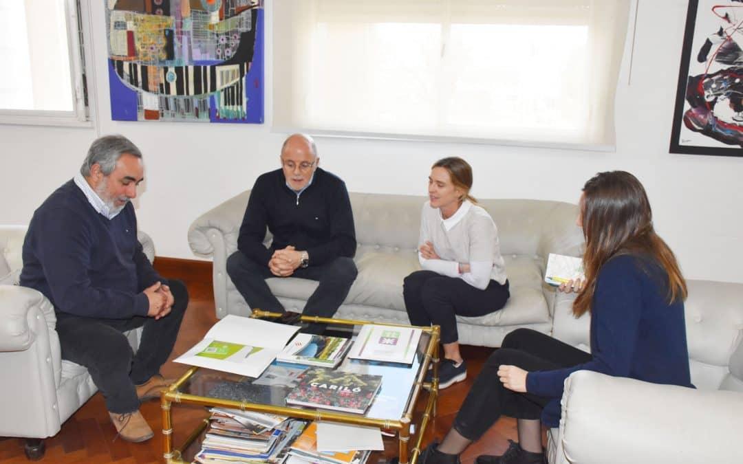 FERNÁNDEZ RECIBIÓ A AUTORIDADES DE LA OFICINA DE FORTALECIMIENTO INSTITUCIONAL DE LA PROVINCIA