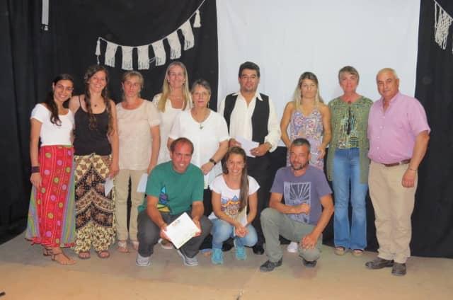30 de Agosto: se realizó el acto de fin de año de los talleres de Cultura y Educación
