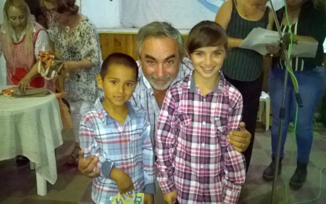 Fernández participó de una muestra de Cultura y Educación en Girodías