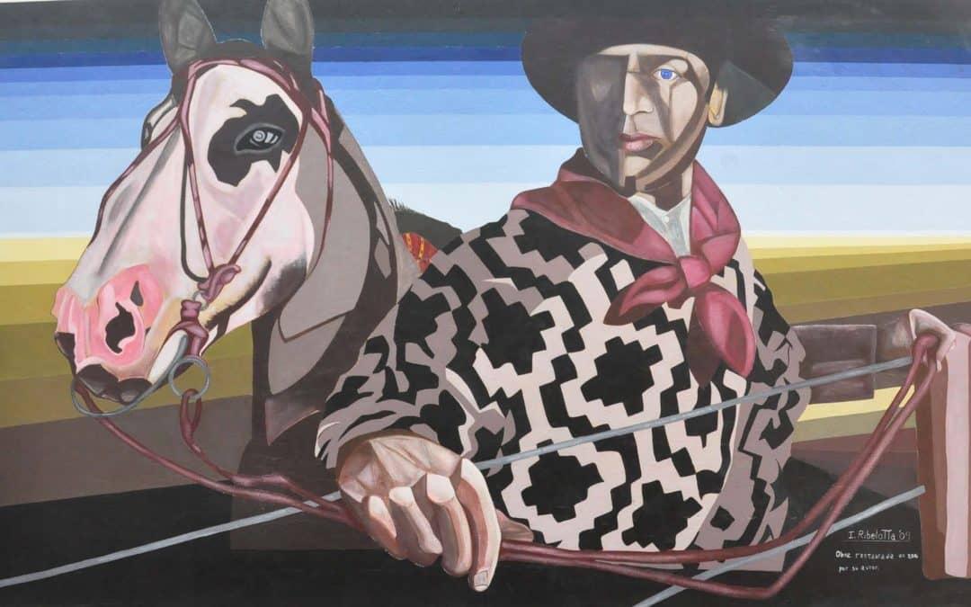 Se realizará un acto para la puesta en valor de un mural de Ignacio Ribelotta
