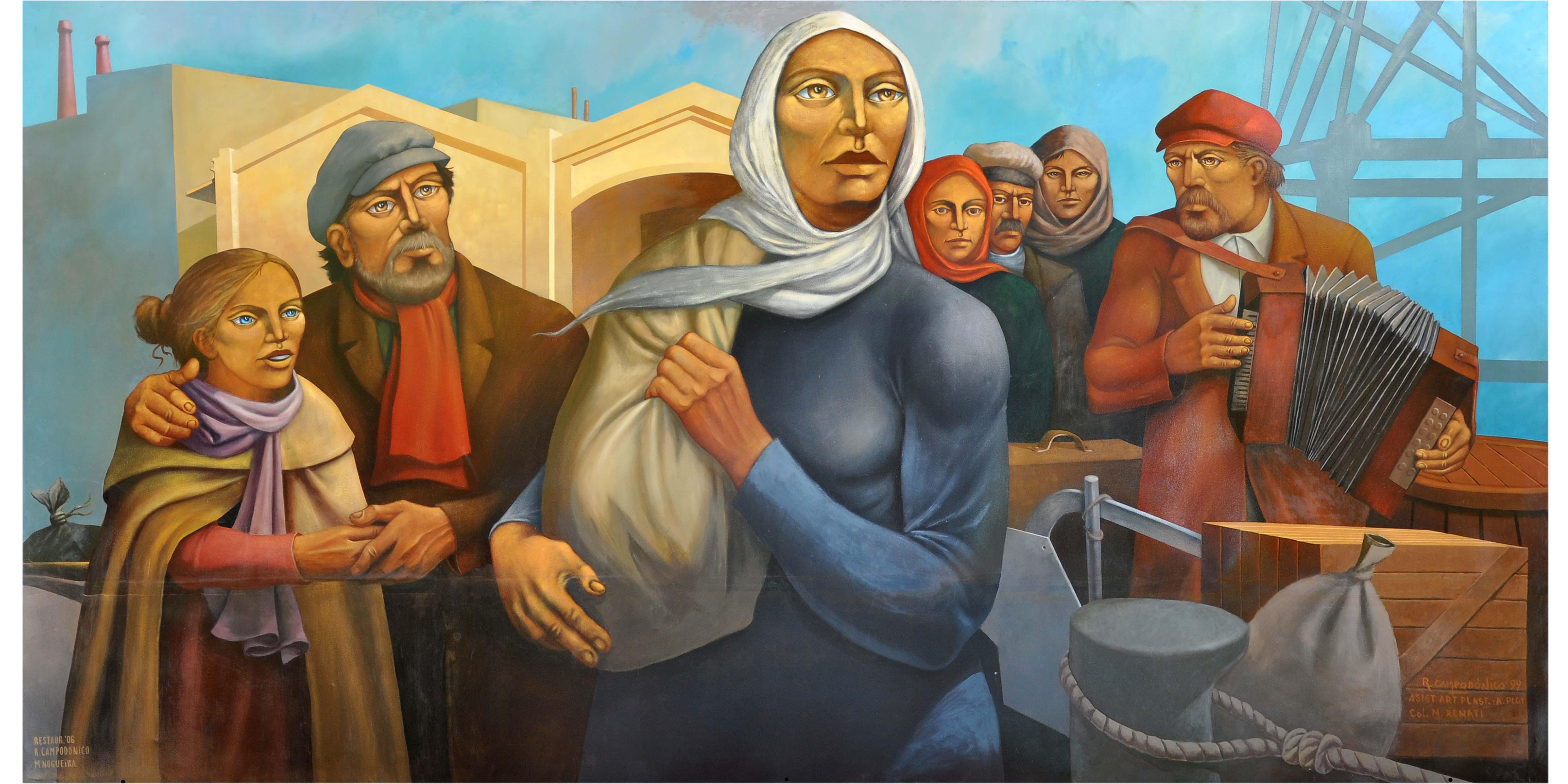 Abre mañana la muestra de murales de Campodónico