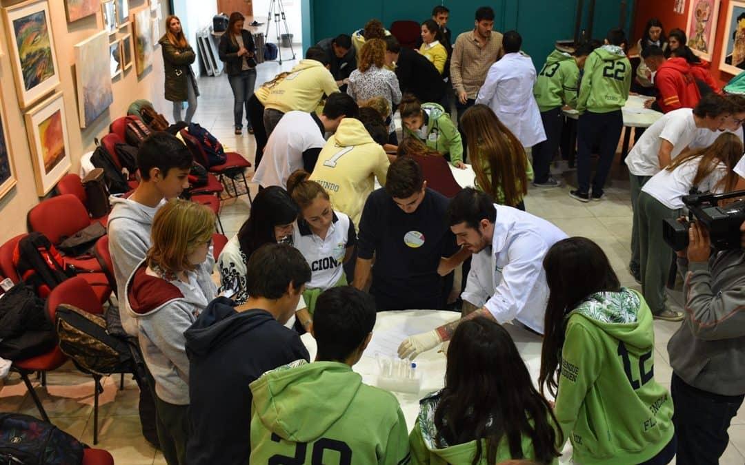 """CASI 50 ESTUDIANTES SECUNDARIOS FUERON HOY (MARTES) """"NANOTECNÓLOGOS POR UN DIA"""", EN LA CASA DE LA CULTURA"""