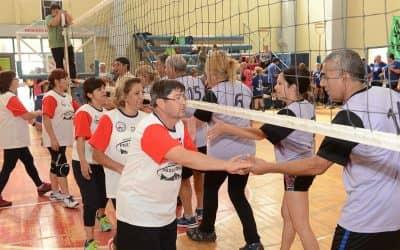 Se realizaron torneos nacionales de Newcom en el Polideportivo