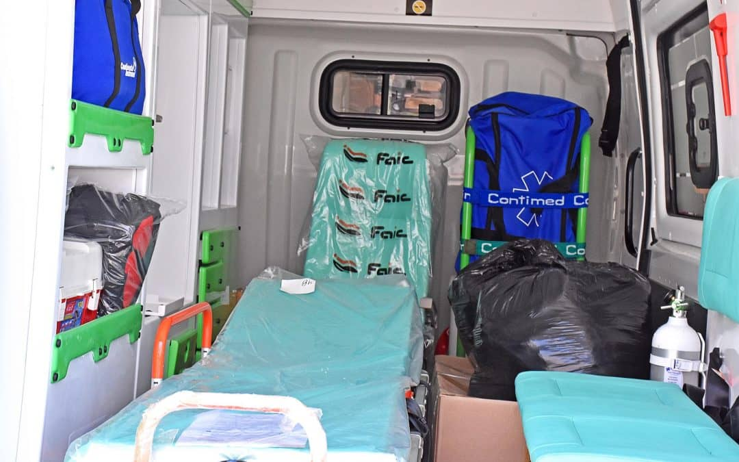 El Hospital sumó una ambulancia 0 km. para emergencias urbanas