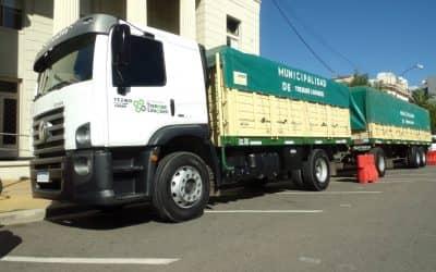 LA COMUNA RENUEVA Y FORTALECE SU PARQUE AUTOMOTOR: ADQUIRIO UN CAMIÓN PARA EL CORRALÓN MUNICIPAL