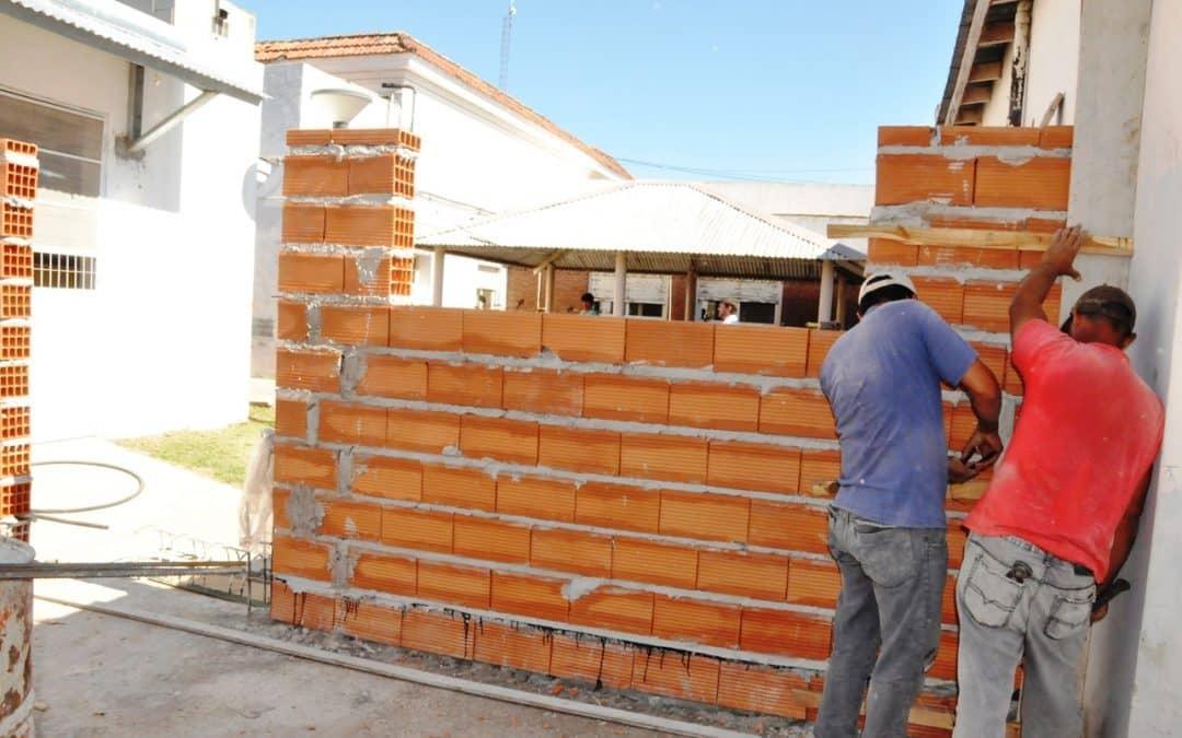 Avanzan las obras en el Hospital Municipal