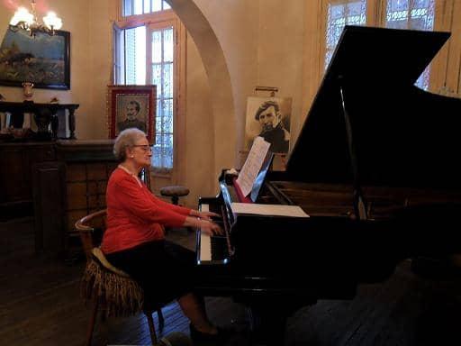 Olga Kaplan en el Teatro Español