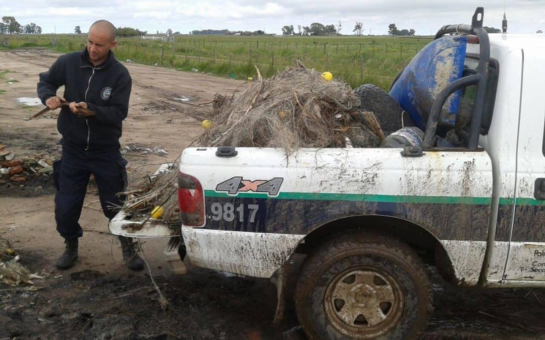 Se realizó un nuevo operativo de pesca y se incautaron 40 kilos de pescado