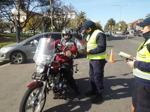 Seguridad vial en Encuentro de Motos