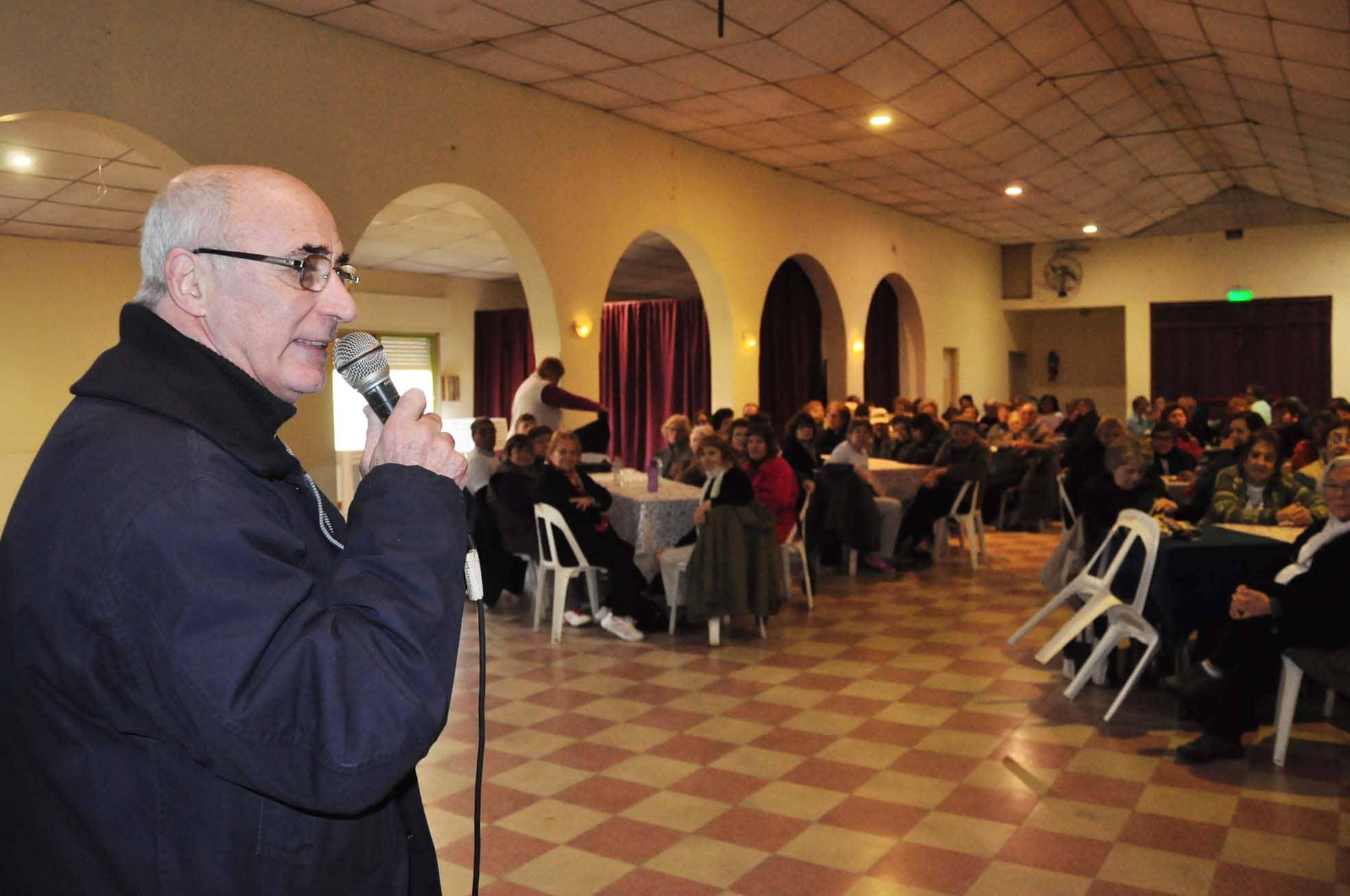 Orellana visitó el PRAM