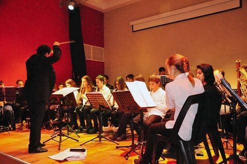 Concierto de Banda y Orquesta municipales