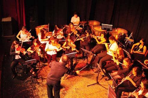 Orquesta Juvenil en concierto