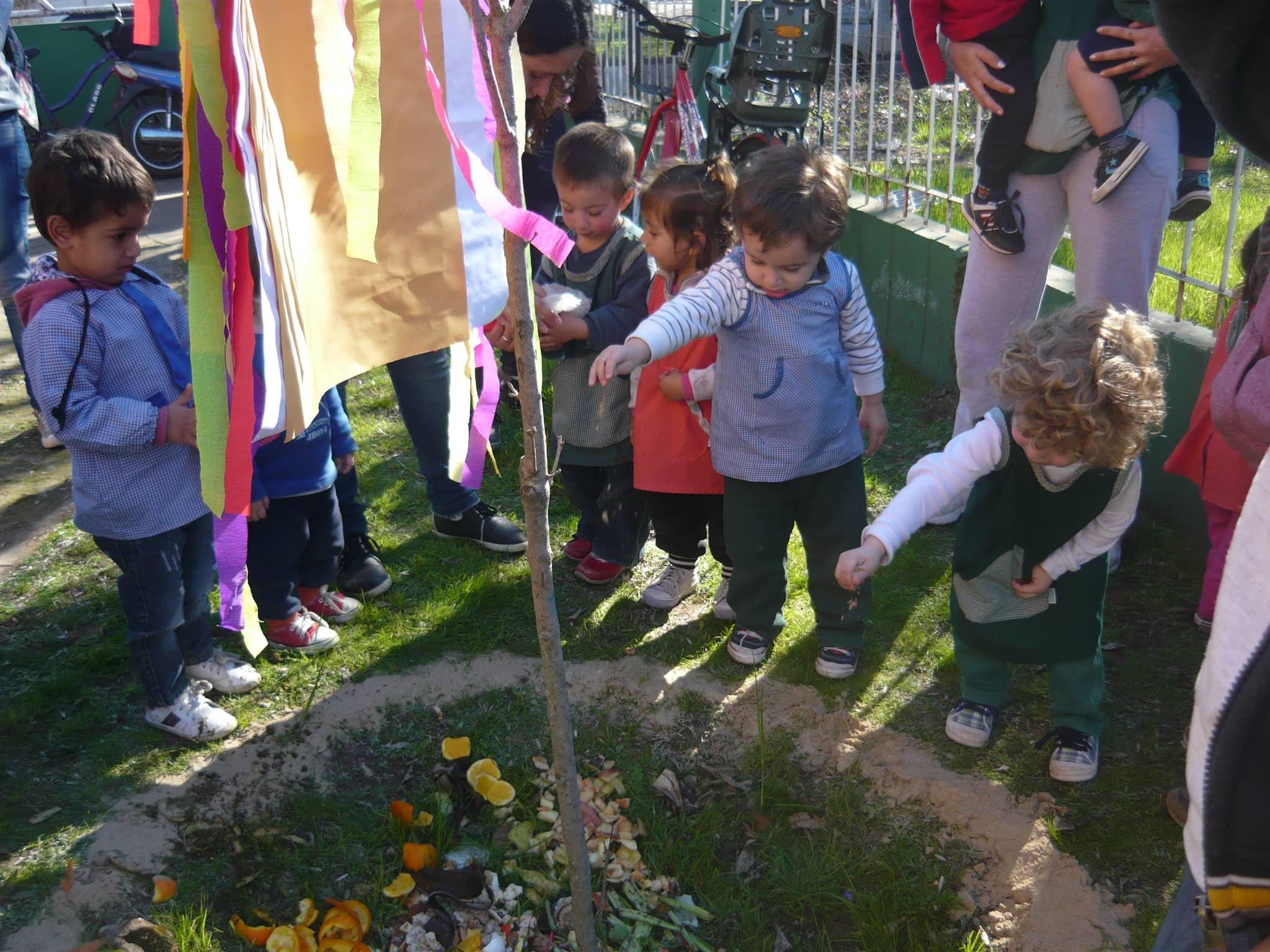 Los jardines maternales y el día de la Pachamama