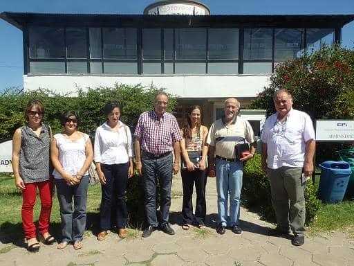 Visita al Parque Industrial de B. Blanca