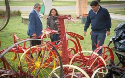 El Municipio avanza con el Paseo Agrícola en el Parque