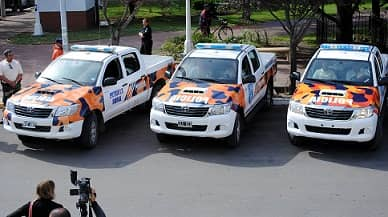 Dos nuevos móviles para Patrulla Rural
