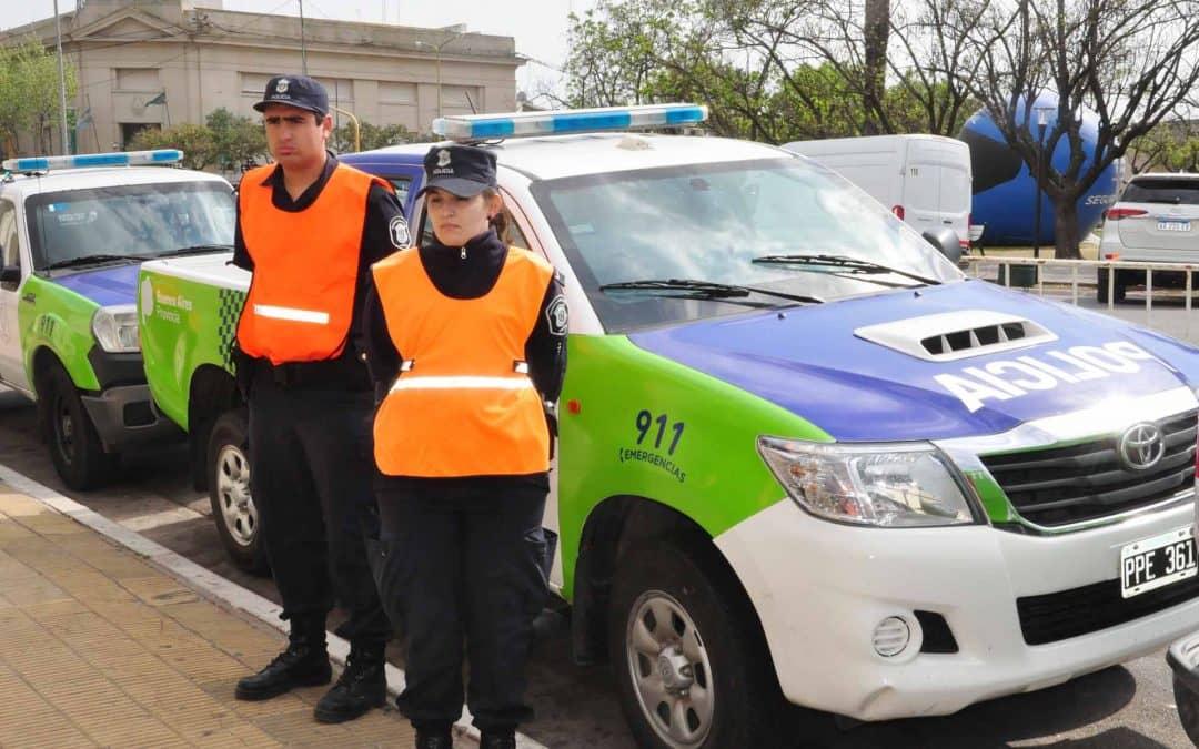 El Municipio entregó móviles enviados por el Ministerio de Seguridad a la Policía