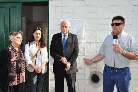 Homenaje a Barracchia en Beruti