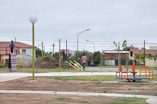 Finalizó la obra de la plaza del barrio Itatí