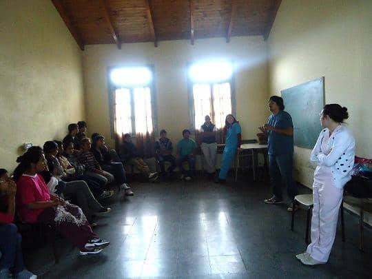 Jornada de Salud Sexual es escuela rural