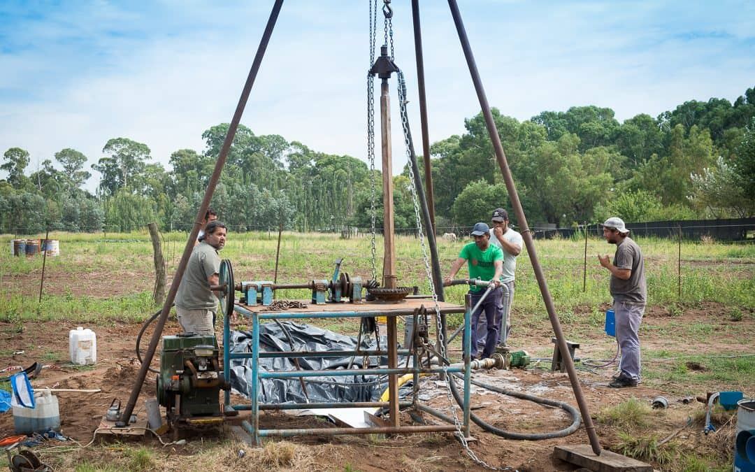 La Comuna realiza 6 perforaciones de agua potable en el sector norte