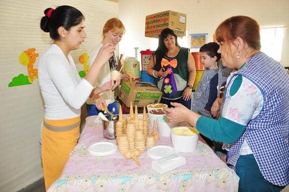 Los Jardines Maternales recibieron el viernes a la primavera