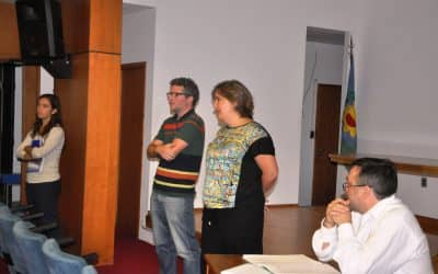 Se realizó una reunión de la Secretaría de Producción con Directivos y docentes de Secundarias