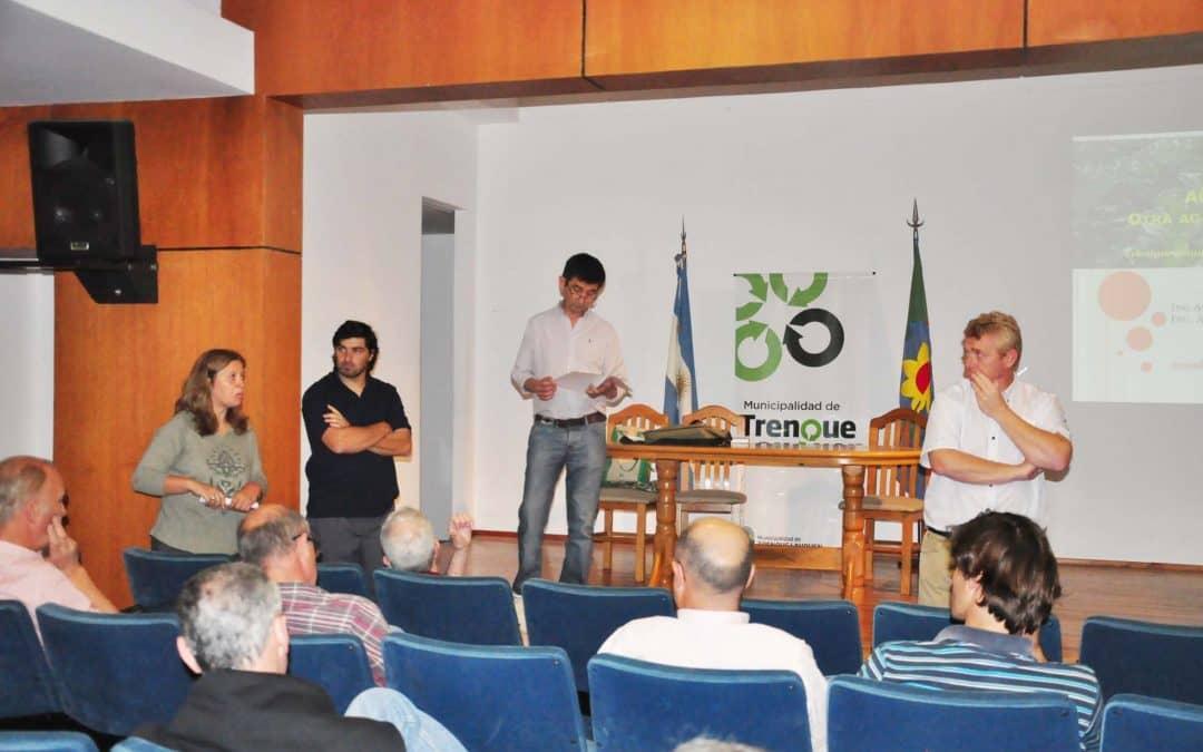Se realizó un encuentro sobre producción agroecológica