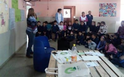 EL MUNICIPIO ABRIÓ UN PUNTO LIMPIO EN LA ESCUELA PRIMARIA Nº 3