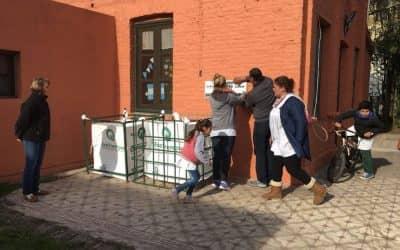 CON EL CICLO LECTIVO VUELVEN A FUNCIONAR LOS PUNTOS LIMPIOS EN LAS ESCUELAS RURALES Y URBANAS