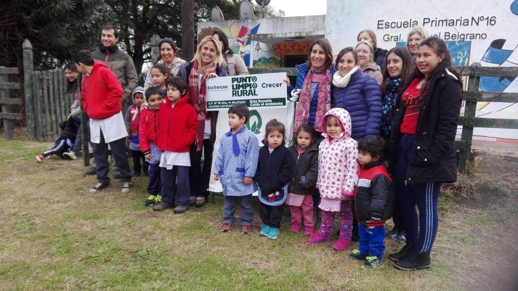 Se inauguró un Punto Limpio en la escuela de Las Guasquitas