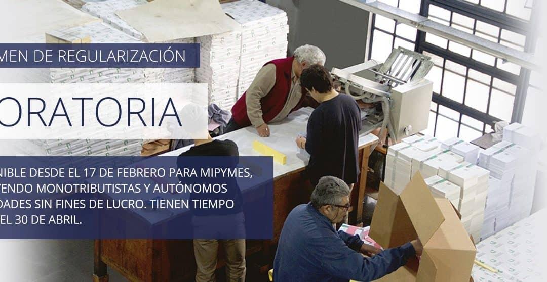 DESDE HOY (LUNES) Y HASTA EL 30 DE ABRIL ESTARÁ VIGENTE LA MORATORIA PYME 2020 DE LA AFIP