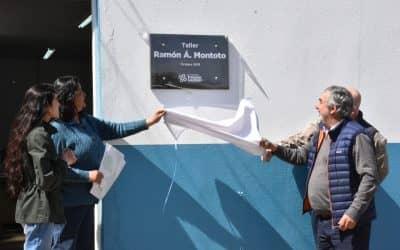 SENTIDO HOMENAJE A RAMÓN MONTOTO: LE IMPUSIERON SU NOMBRE AL TALLER DE DIRECCIÓN VIAL