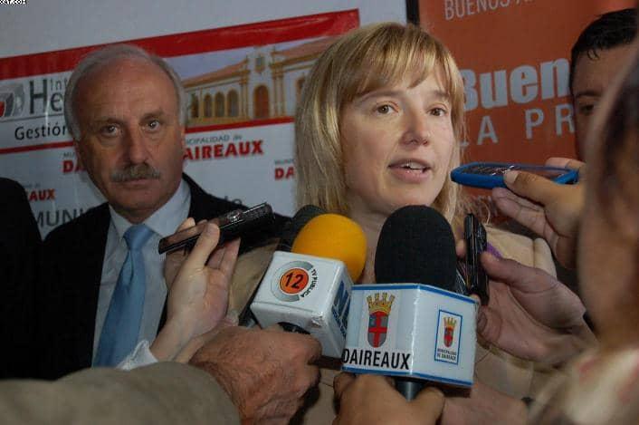 Feito se reunió con la Ministra Álvarez Rodríguez