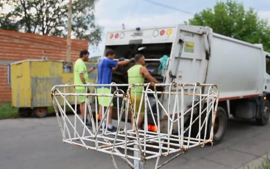 Este domingo (31) la recolección de residuos comenzará al mediodía
