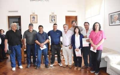 Se entregaron reconocimientos a empleados municipales con 30 años de servicio