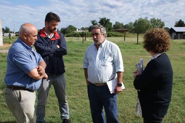 Fernández recorrió obras en marcha en 30 de Agosto
