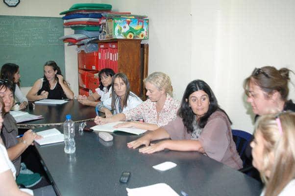 Reunión de Piras con coordinadoras