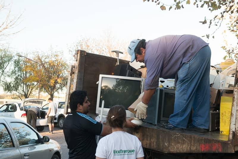 Se realizó con éxito la segunda jornada de recepción de residuos electrónicos