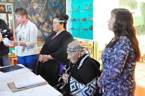El Municipio entregó los restos de caciques a la comunidad Cacique Pincén