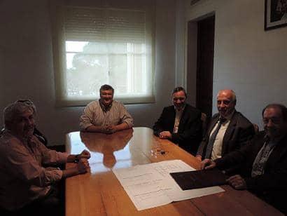Feito recibió a la Asociación de Empleados Fiscales