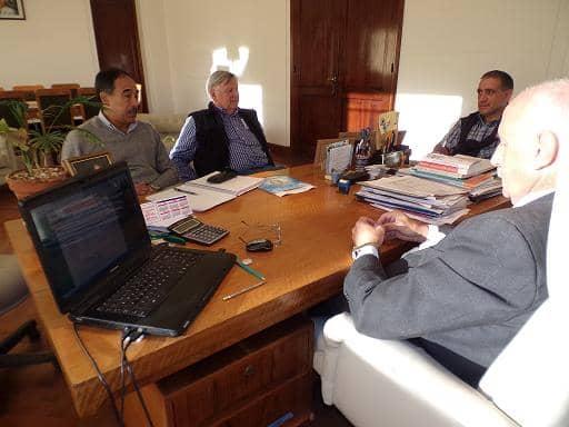 Reunión con Cooperativa de Electricidad