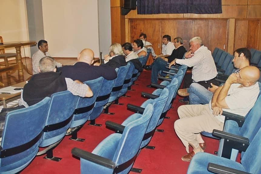 Reunión de Defensa Civil