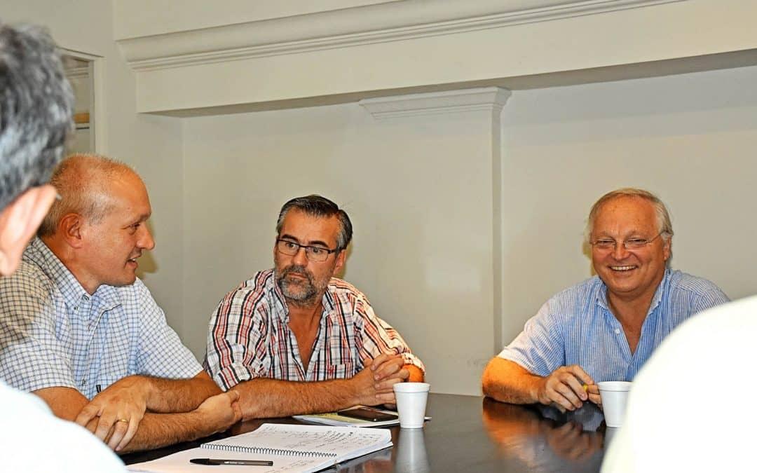 Autoridades provinciales comprometieron gestiones para que la empresa contratista repare las veredas