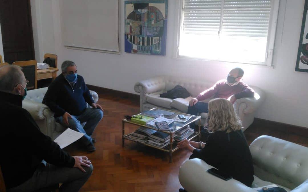 FERNÁNDEZ Y ZAMBIASIO SE REUNIERON CON MÓNICA ESTÉVEZ Y PABLO LARROSA PARA HABLAR DE LA SITUACIÓN EN EL DISTRITO