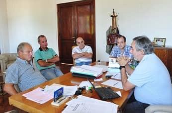 Fernández se reunió con el Colegio de Martilleros