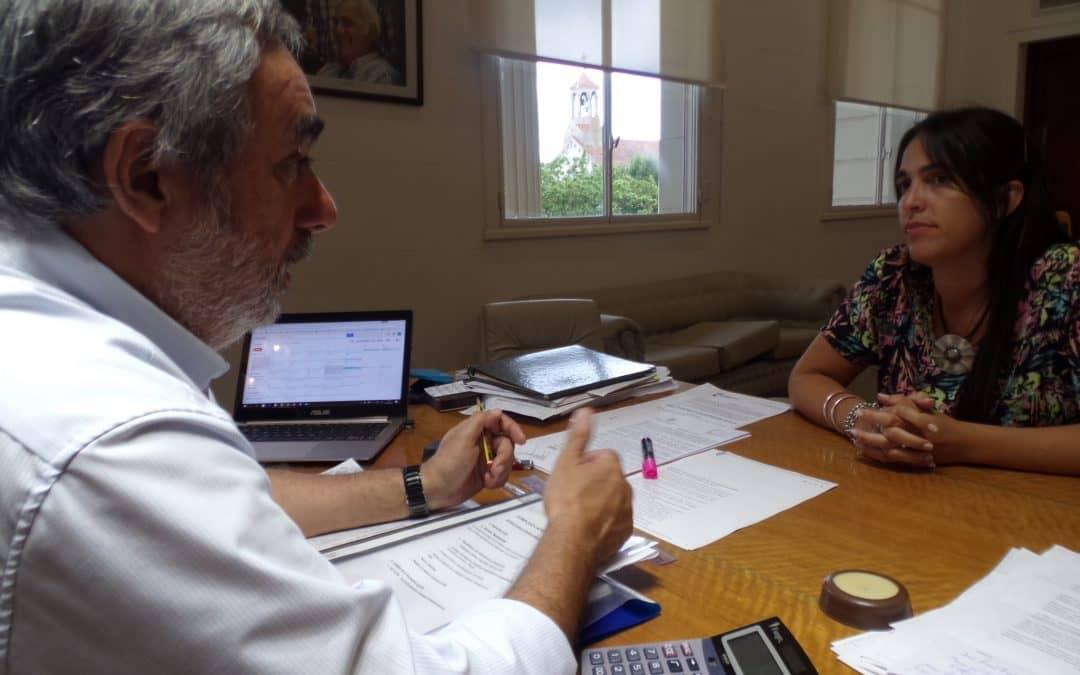 Fernández se reunió con la Jefa regional de ANSES