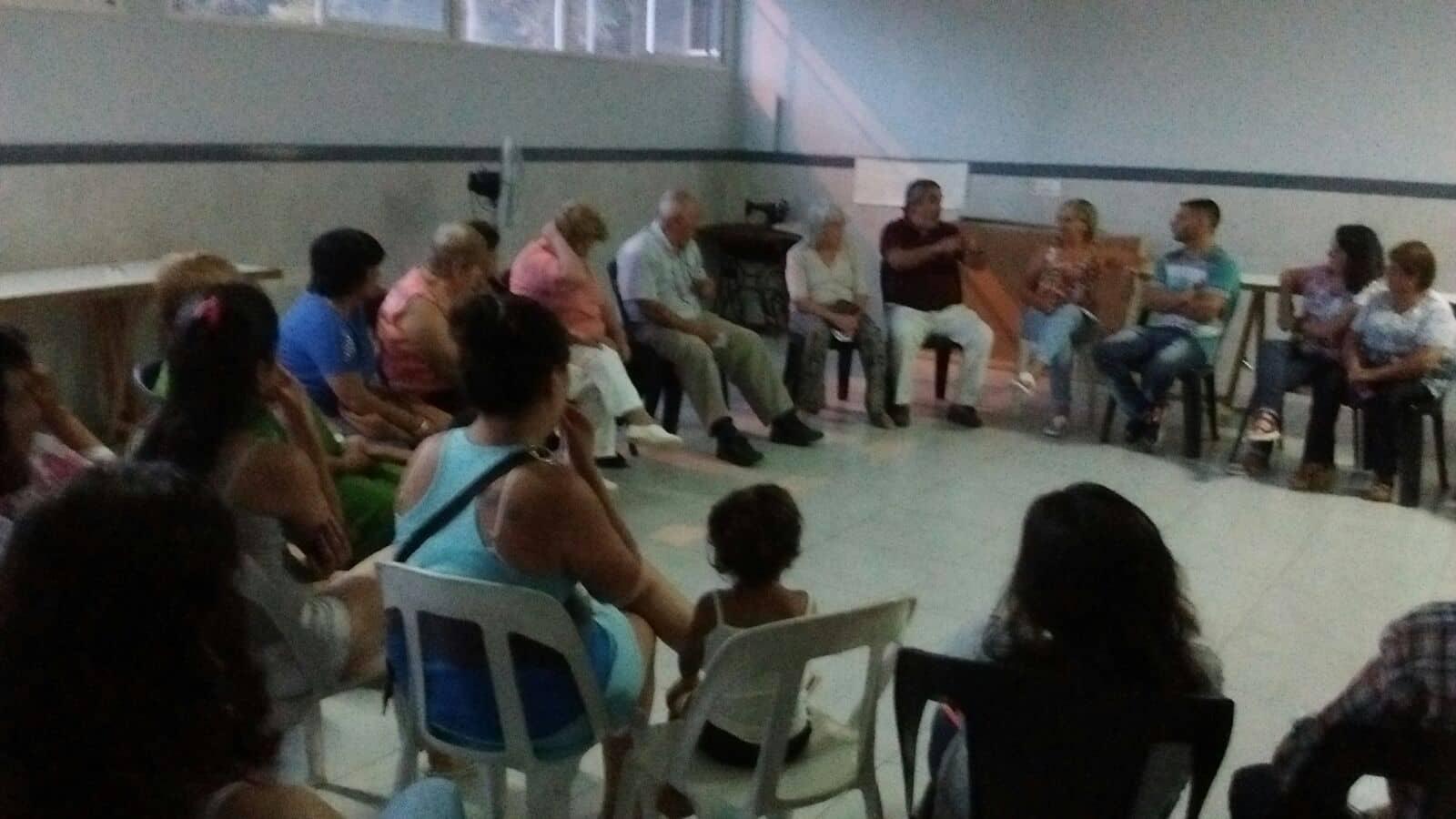 El Intendente y funcionarios, con vecinos en Los Robles e Indio Trompa