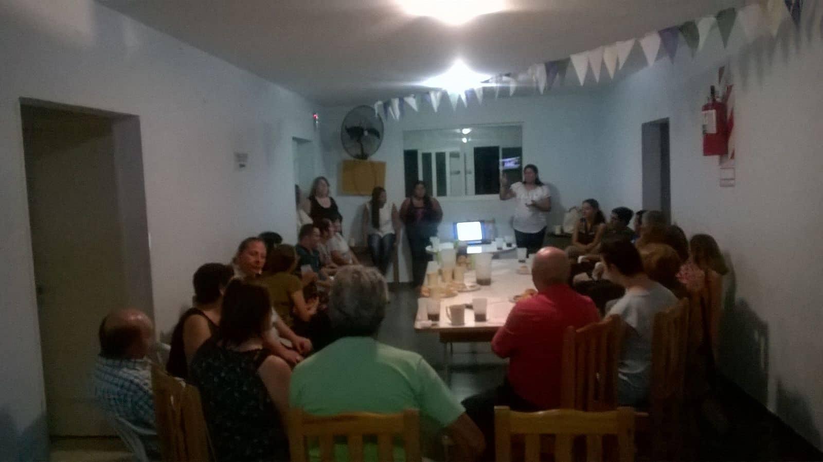 Reunión por proyecto anual del Centro de Día